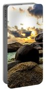 Sun Sand Sea And Rocks Portable Battery Charger