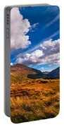 Sunny Day At Rest And Be Thankful. Scotland Portable Battery Charger