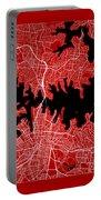 Sydney Street Map - Sydney Australia Road Map Art On Color Portable Battery Charger