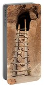 Talus House Front Door Bandelier National Monument Portable Battery Charger