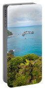 Tasman Sea At West Coast Of South Island Of New Zealand Portable Battery Charger