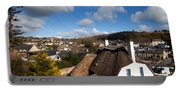 Thatched Cottages Near Dunmore Strand Portable Battery Charger
