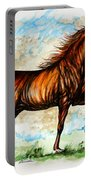 The Chestnut Arabian Horse Portable Battery Charger