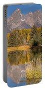 The Grand Tetons Schwabacher Landing Grand Teton National Park Portable Battery Charger