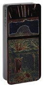 The Lonely Trail Homage 1936 Cabezon Peak Ghost Town Cabezon New Mexico 1971 Portable Battery Charger