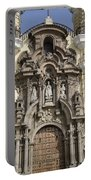 The Monastery Of San Francisco - Lima Peru Portable Battery Charger