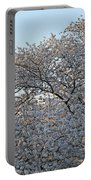 The Simple Elegance Of Cherry Blossom Trees Portable Battery Charger