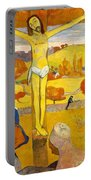 The Yellow Christ Portable Battery Charger