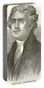 Thomas Jefferson Portable Battery Charger by English School