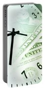 Time Is Money Portable Battery Charger
