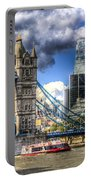 Tower Bridge And The City Portable Battery Charger