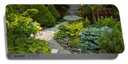 Tranquil Garden  Portable Battery Charger