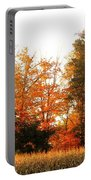 Trees Of Fall Portable Battery Charger