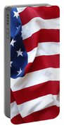 Usa Flag Portable Battery Charger