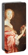 Van Dyck's Catherine Howard -- Lady D'aubigny Portable Battery Charger