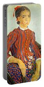 Van Gogh's La Mousme Portable Battery Charger