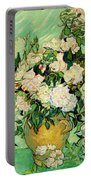 Van Gogh's Roses Portable Battery Charger