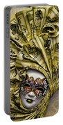 Venetian Carnaval Mask Portable Battery Charger