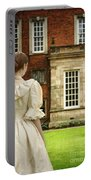 Victorian Woman Portable Battery Charger