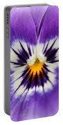 Viola Named Sorbet Marina Baby Face Portable Battery Charger by J McCombie