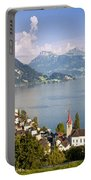 Weggis Switzerland Portable Battery Charger