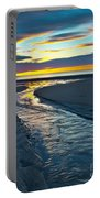 Wells Beach Maine Sunrise Portable Battery Charger