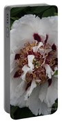 White Peony Portable Battery Charger