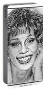 Whitney Houston In 1992 Portable Battery Charger