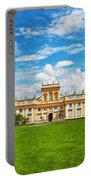 Wilanow Palace In Warsaw Poland Portable Battery Charger