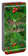 Winter Solstice Portable Battery Charger