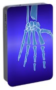 X-ray View Of Human Hand Portable Battery Charger