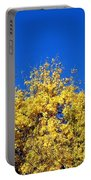 Yellow Autumn Tree Portable Battery Charger