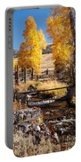 Yellowstone Institute In Lamar Valley In Yellowstone National Park Portable Battery Charger
