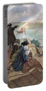 Battle Of Bunker Hill, 1775 Portable Battery Charger