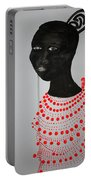 Dinka Bride - South Sudan Portable Battery Charger