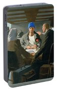 20. Jesus Appears At Emmaus / From The Passion Of Christ - A Gay Vision Portable Battery Charger