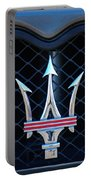2005 Maserati Gt Coupe Corsa Emblem Portable Battery Charger