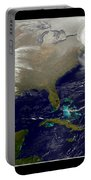 2013 Blizzard In Northeast Nasa Portable Battery Charger