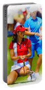 2013 Solheim Cup - Michelle Wie Portable Battery Charger