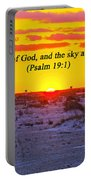 2014 03 12 02 A Psalm 19 1 Portable Battery Charger