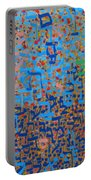 2014 20 Psalms 20 Hebrew Text Of In Blue And Other Colors On Gold  Portable Battery Charger