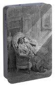 Dor� The Raven, 1882 Portable Battery Charger