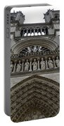 Notre Dame In Paris France Portable Battery Charger
