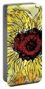 24 Kt Sunflower - Barbara Chichester Portable Battery Charger