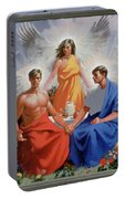 24. The Trinity / From The Passion Of Christ - A Gay Vision Portable Battery Charger