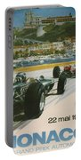 24th Monaco Grand Prix 1966 Portable Battery Charger