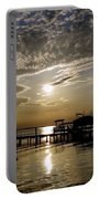 An Outer Banks Of North Carolina Sunset Portable Battery Charger
