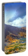 Mountains Landscape Portable Battery Charger