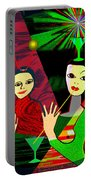 280 -  Wild Celebration   Portable Battery Charger
