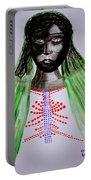 Dinka Bride  - South Sudan Portable Battery Charger